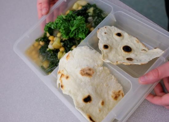 Jamie Oliver super green soup and easy flatbreads on eatlivetravelwrite.com