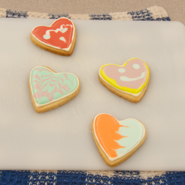 Cookies decorated with royal icing on eatlivetravelwrite.com
