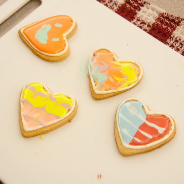 Cookies decorated by kids on eatlivetravelwrite.com
