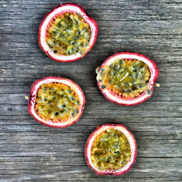 Cut passionfruit on eatlivetravelwrite.com