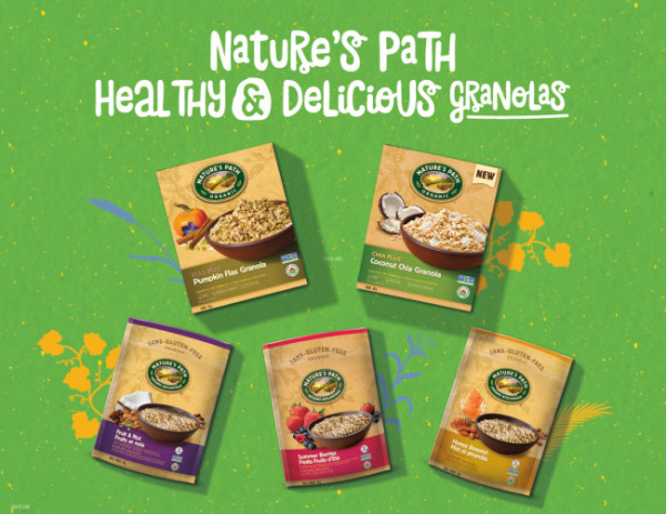 Natures Path Giveaway Promo Image