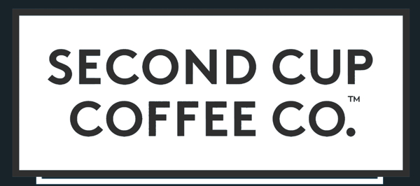 Second Cup White Logo on eatlivetravelwrite.com