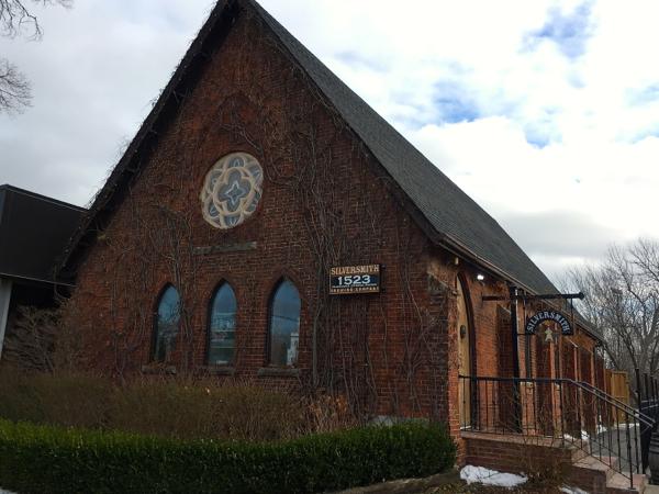 Silversmith Brewing building on eatlivetravelwrite.com