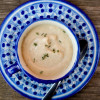 Roasted cauliflower and sunchoke soup by Mardi Michels eatlivetravelwrite.com