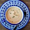 Roasted cauliflower and sunchoke soup by Mardi Michels eatlivetravelwrite.com