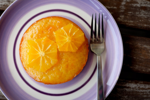 Fresh orange cake from Baking Chez Moi for tuesdays with Dorie on eatlivetravelwrite.com