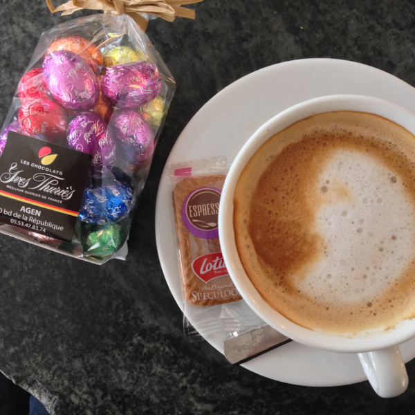 Coffee and chocolates on eatlivetravelwrite.com