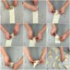 Kids folding vegetarian samosas on eatlivetravelwrite.com