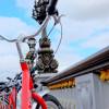 Fat Tire Bike tours on Pont Alexandre III on eatlivetravelwrite.com