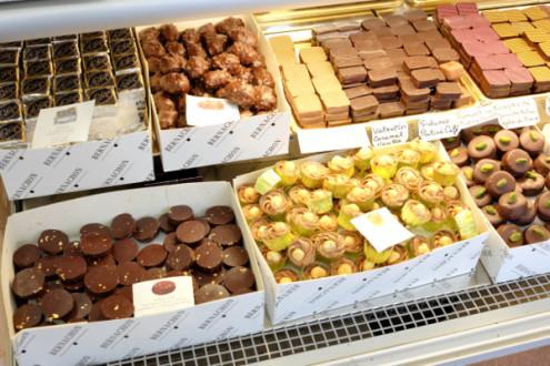 Chocolates at L'Etoile d'Or in Paris on eatlivetravelwrite.com