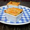 Mini mushroom bourguignon pot pies by Mardi Michels eatlivetravelwrite.com