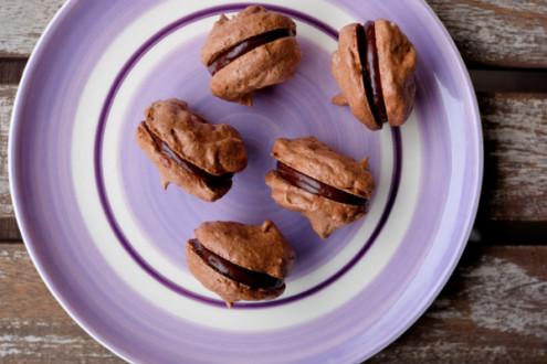 Dorie Greenspan Cocoa Crunch Meringue Cookies on eatlivetravelwrite.com