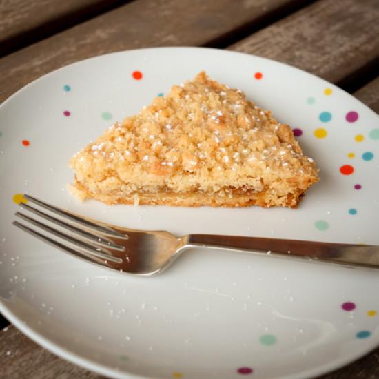 Slice of jammer galette on eatlivetravelwrite.com