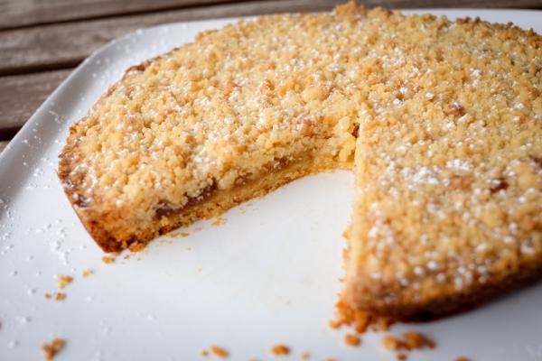 Dorie Greenspan Baking Chez Moi jammer galette sliced on eatlivetravelwrite.com