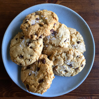Basic great chocolate chip cookies from Seven Spoons on eatlivetravelwrite.com