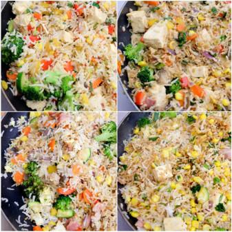 Petits Chefs fried rice on eatlivetravelwrite.com