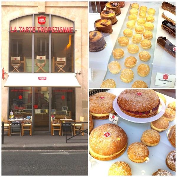 La Tarte Tropezienne in Paris on eatlivetravelwrite.com