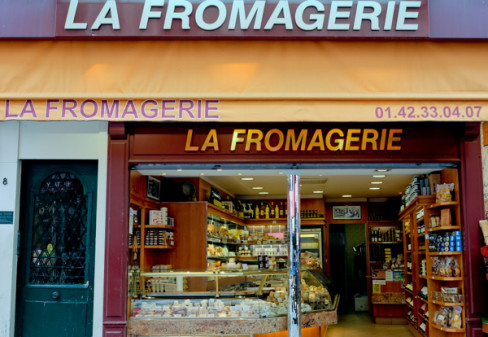 Fromagerie on the rue Montorgueil on eatlivetravelwrite.com
