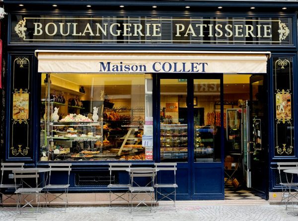 Maison Collet on the rue Montorgueil on eatlivetravelwrite.com