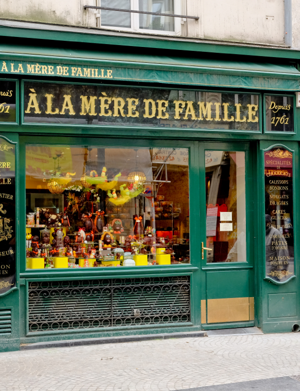 A la Mère de Famille on the rue Montorgueil on eatlivetravelwrite.com