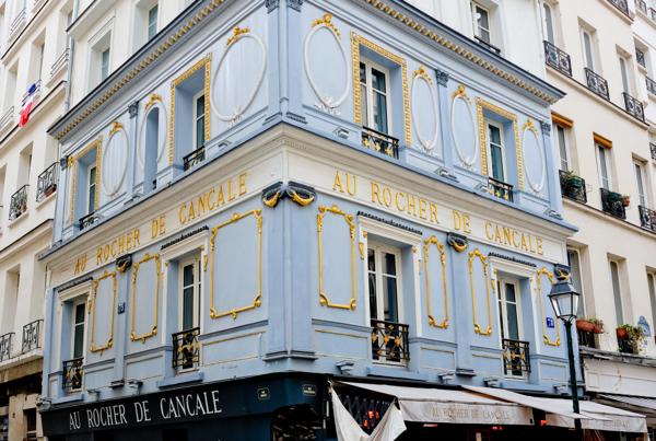 Au Rocher de Cancale on the rue Montorgueil on eatlivetravelwrite.com