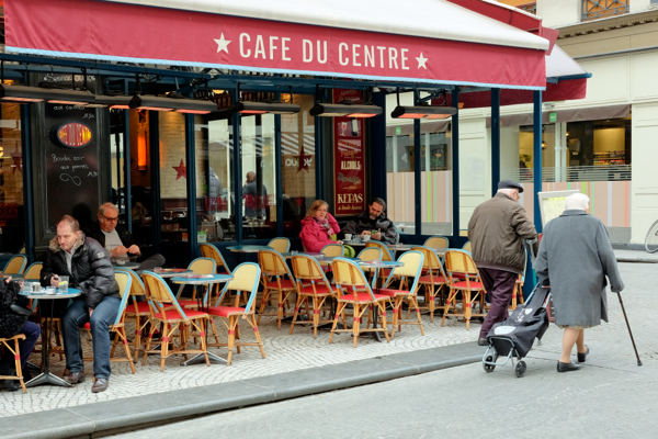 Cafe du Centre on eatlivetravelwrite.com