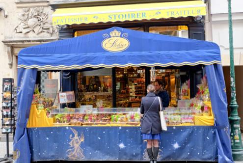 Maison Stohrer on the rue Montorgueil on eatlivetravelwrite.com