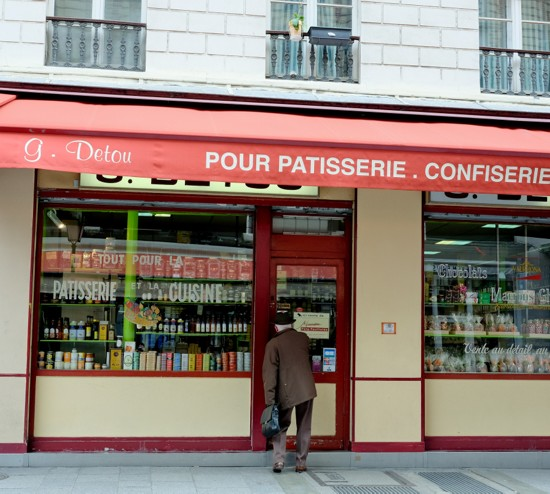 G Detou near the the rue Montorgueil on eatlivetravelwrite.com