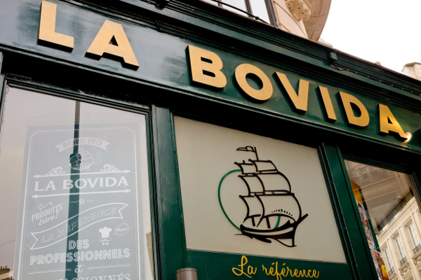 La Bovida near the rue Montorgueil on eatlivetravelwrite.com