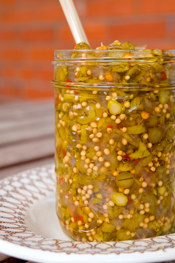 Asparagus relish from Batch Cookbook on eatlivetravelwrite.com