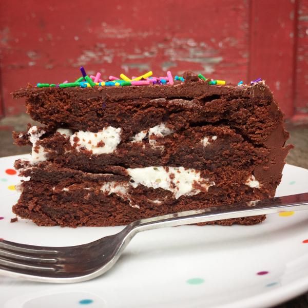 Dorie Greenspan chocoholic cake from baking Chez Moi on eatlivetravelwrite.com