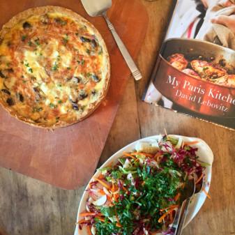 Cookbook Book Club meal from My Paris Kitchen on eatlivetravelwrite.com