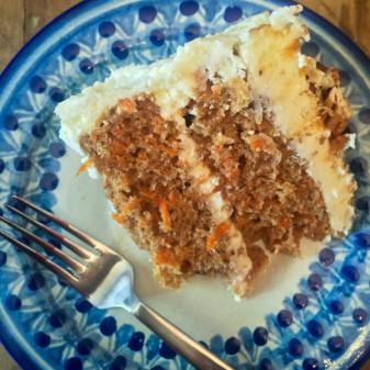 Carrot cake from My Paris Kitchen on eatlivetravelwrite.com