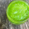 Green smoothie on eatlivetravelwrite.com