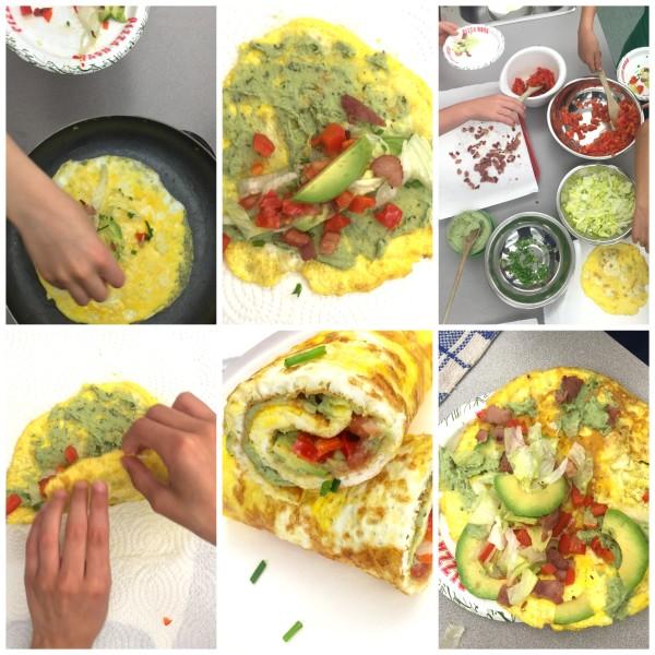 Variations on Jamie Oliver's omelette on eatlivetravelwrite.com
