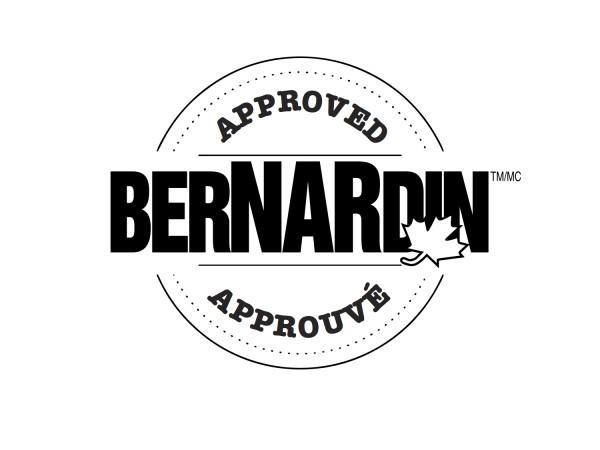 Bernardin logo on eatlivetravelwrite.com