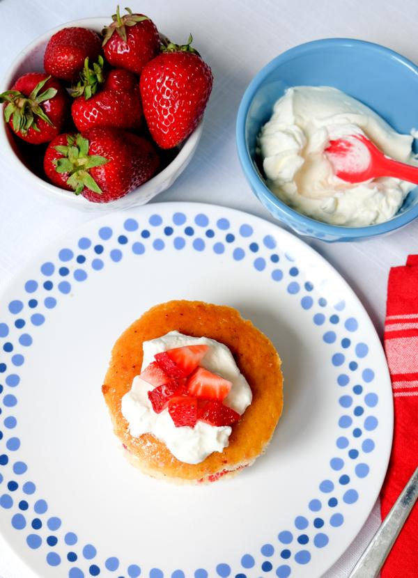 Mini fraisier for Tuesdays with Dorie on eatlivetravelwrite.com