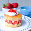 Mini Fraisier from Dorie Greenspan Baking Chez Moi on eatlivetravelwrite.com