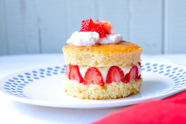 Mini fraisier from Baking Chez Moi on eatlivetravelwrite.com