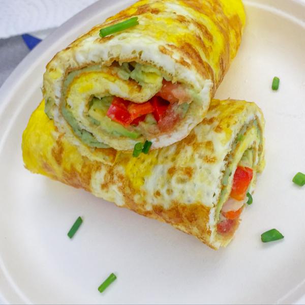 Kids making versions of Jamie Oliver Food Revolution omelette on eatlivetravelwrite.com