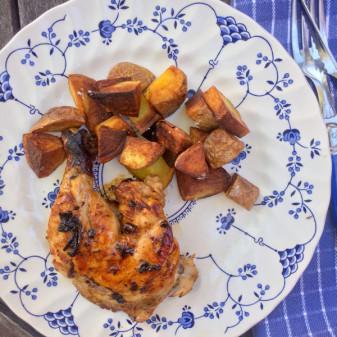 David Lebovitz chicken lady chicken from My Paris Kitchen on eatlivetravelwrite.com