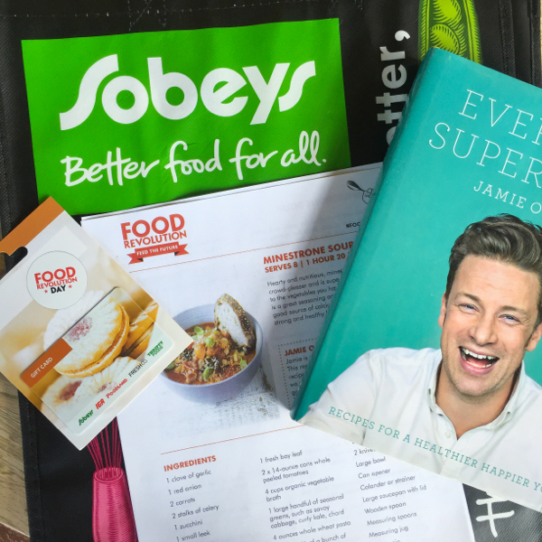 Sobeys and Harper Collins sponsorship for Food Revolution Day on eatlivetravelwrite.com