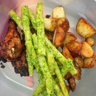 Jamie Oliver Food Revolution roast chicken dinner on eatlivetravelwrite.com