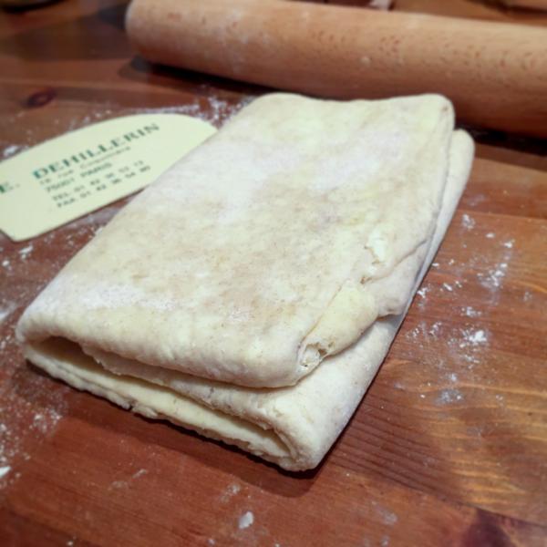 Homemade croissant dough on eatlivetravelwrite.com