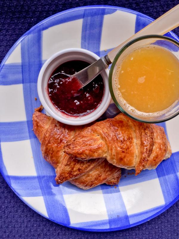 HOmemade croissants on eatlivetravelwrite.com