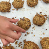 Hard to resist Breakfast grab n go cookies on eatlivetravelwrite.com