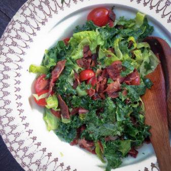 Kale salad from Bonjour Kale on eatlivetravelwrite.com