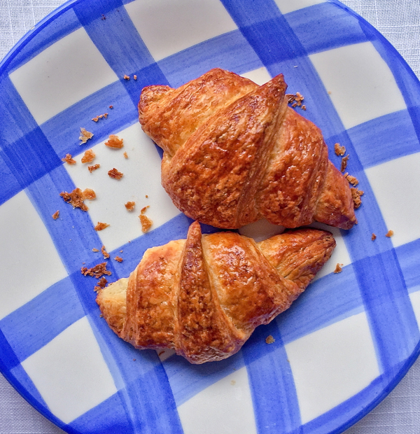 Patisserie made Simple croissants on eatlivetravelwrite.com
