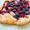 Summer market galette from Baking Chez Moi on eatlivetravelwrite.com