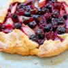 Summer market galette from Baking Chez Moi on eatlivetravelwrite.com